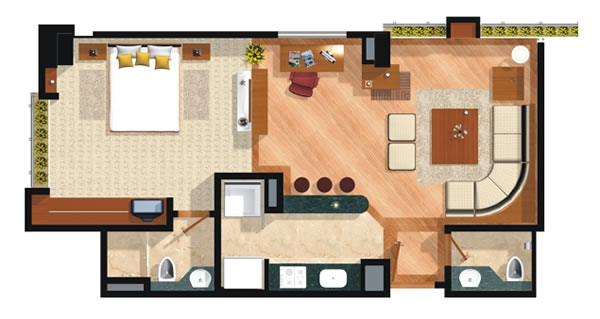 Arquitectura segura for Casa moderna tipo loft